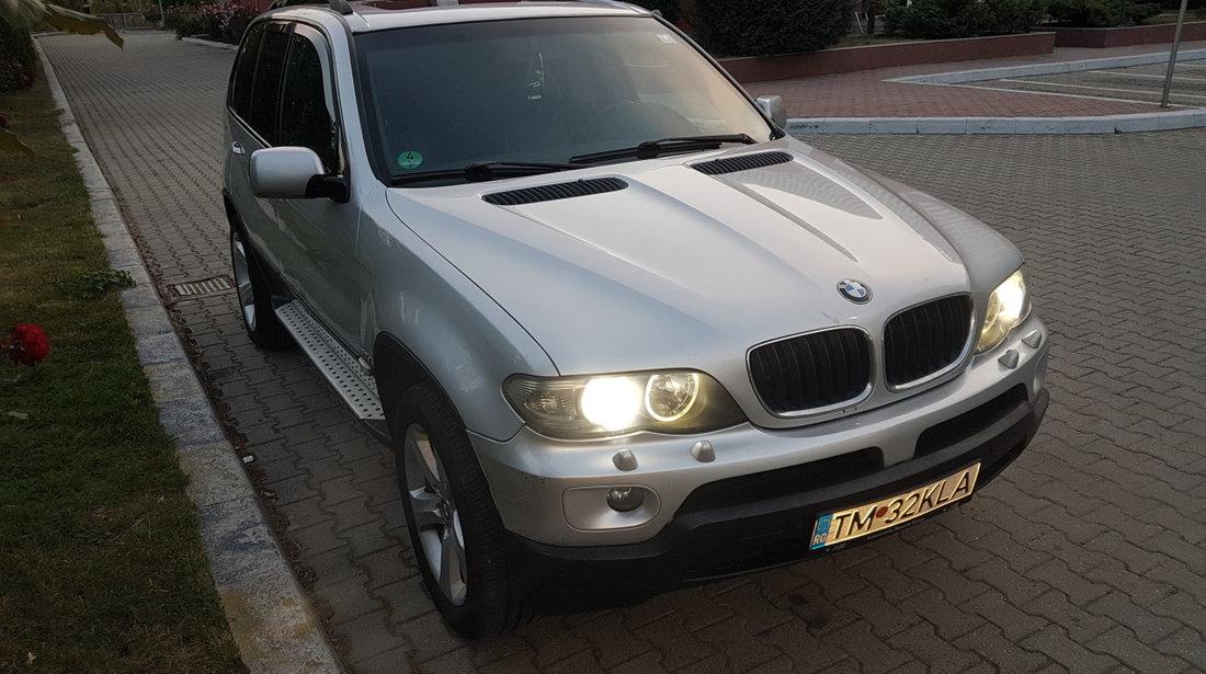 BMW X5 3,0d Recent înmatriculat RO Facelift Xenon Piele Recaro Navi 2004