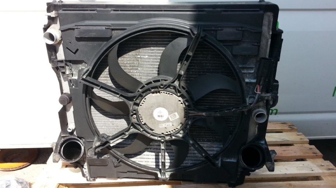 BMW X5 E70 2008 Radiator Apa Intercooler si GMW suport cu ventilator
