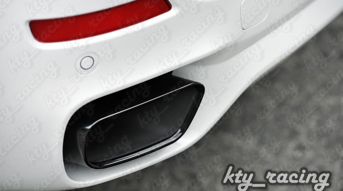 BMW X5 F15 TIPS ESAPAMENT ORNAMENT TOBA CHROM BLACK