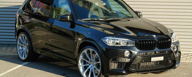BMW X5 M de la Daehler sau Cum sa sfidezi legile fizicii cu un SUV de 2.3 tone