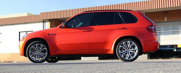 BMW X5 M realizat de Fostla are 650 cp
