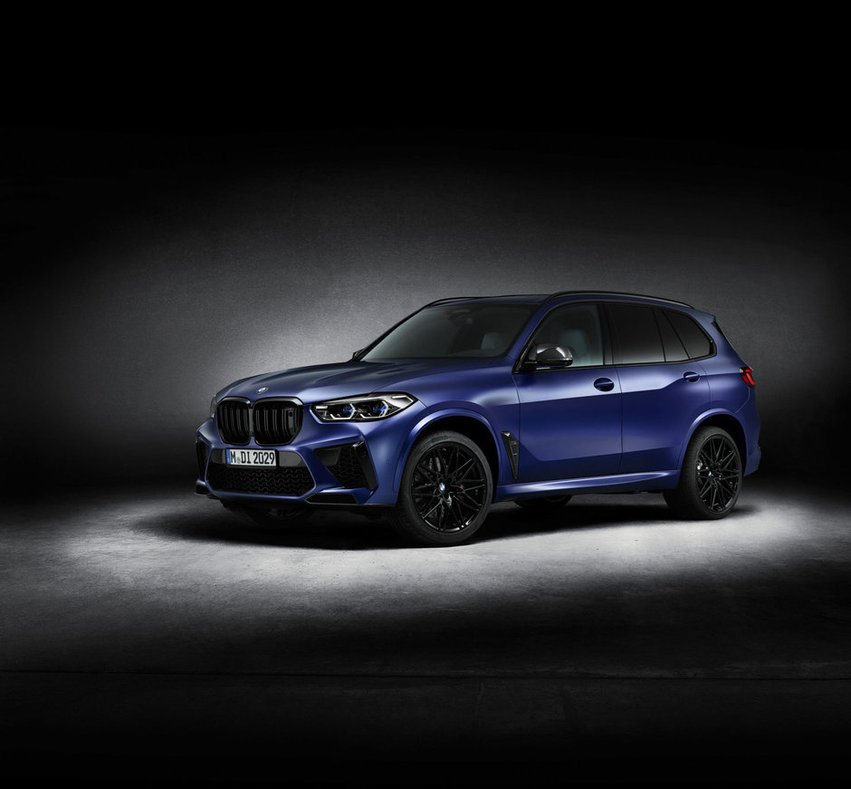 BMW X5 M si X6 M Competition First Edition