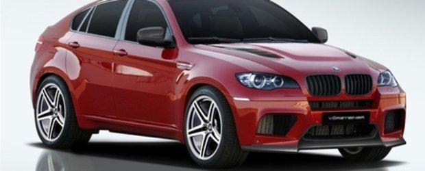 BMW X6 M by Vorsteiner - Rubinul stralucitor