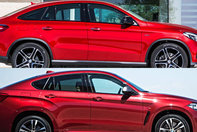 BMW X6 vs Mercedes-Benz GLE Coupe