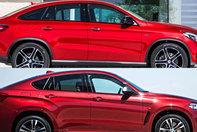 BMW X6 vs Mercedes-Benz GLE Coupe