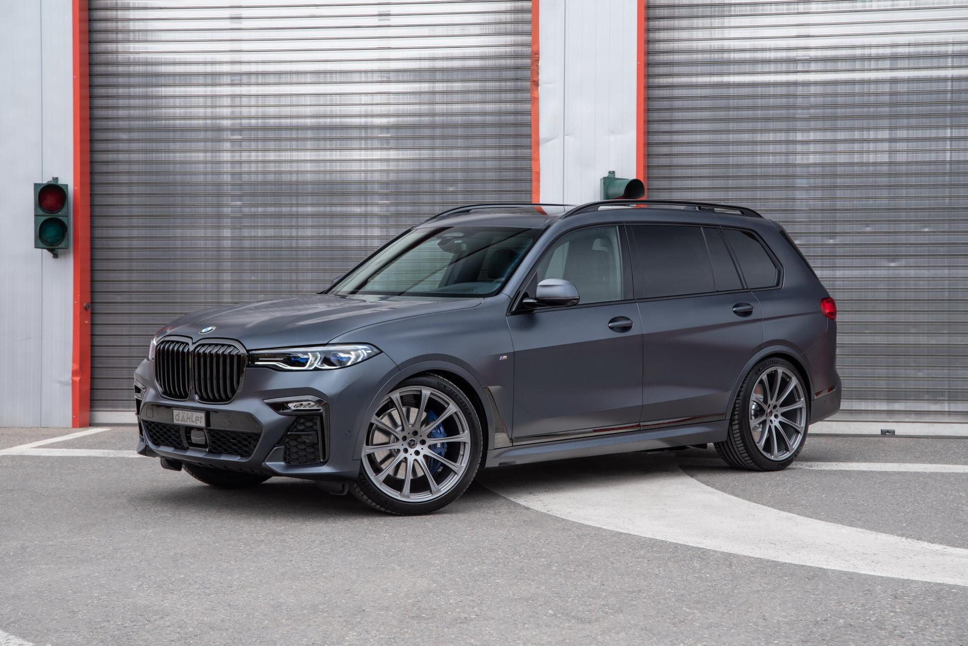 BMW X7 de la Dahler - BMW X7 de la Dahler
