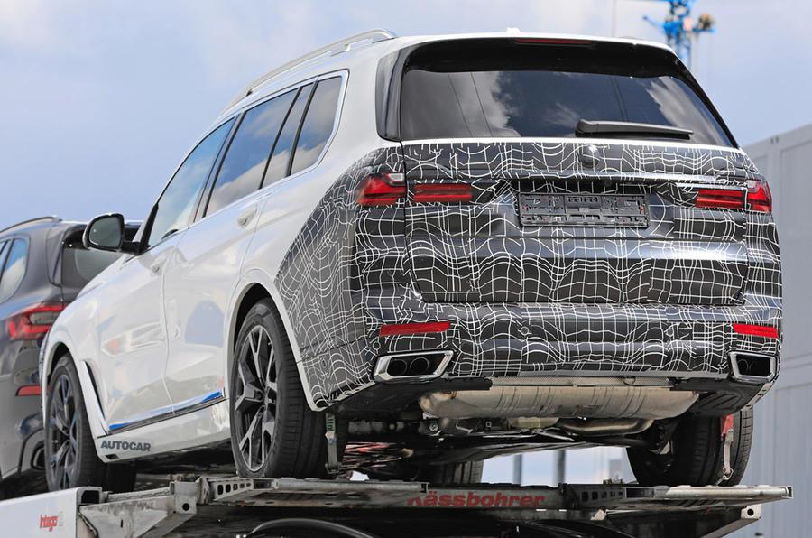 BMW X7 Facelift - Poze spion