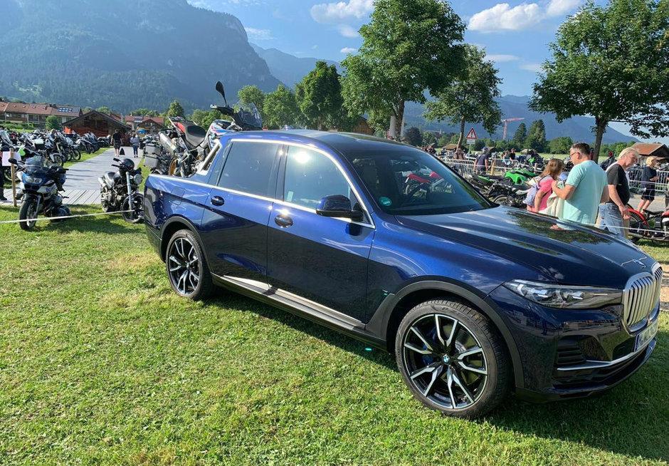 BMW X7 Pick-Up - Poze Reale