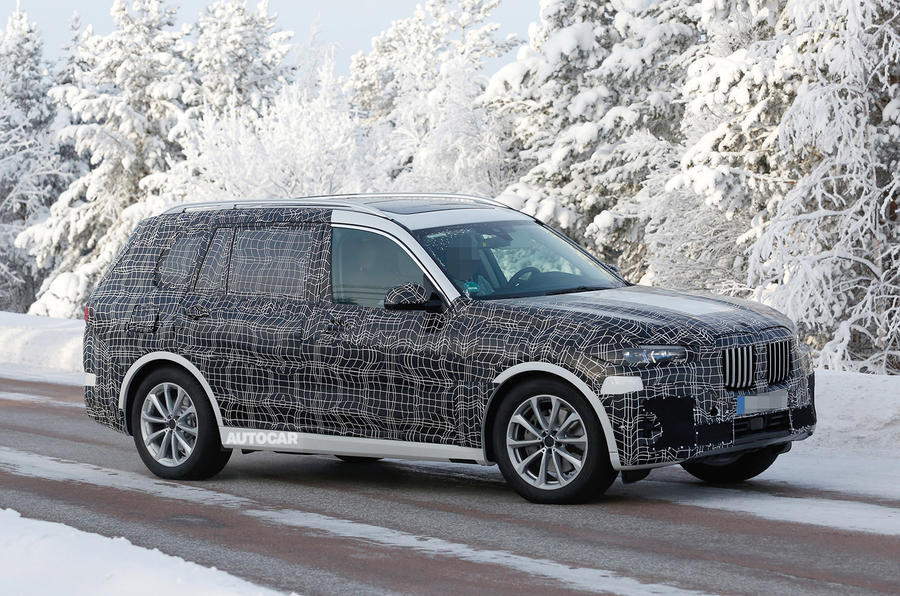 BMW X7 - Poze Spion - BMW X7 - Poze Spion