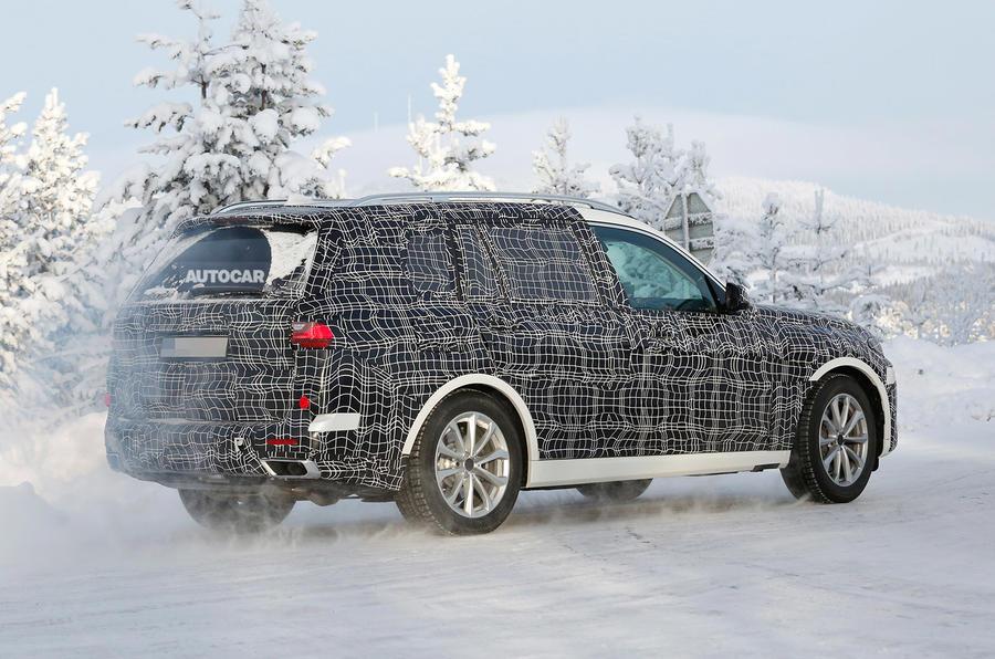 BMW X7 - Poze Spion - BMW X7 - Poze Spion