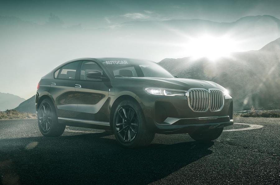 BMW X8 - Ipoteza de design
