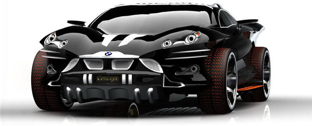 BMW X9 Concept - Daca Batman ar conduce un Bimmer...