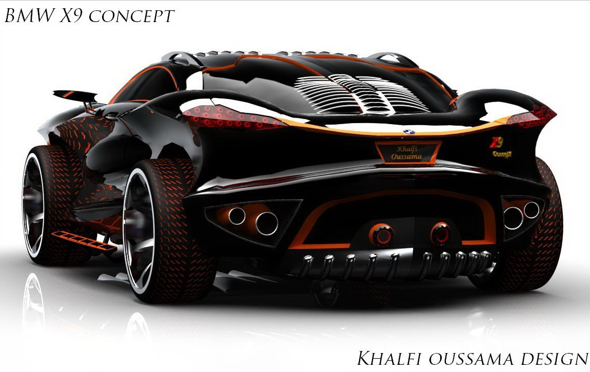 Poze Virtual Tuning Bmw X9 Concept Daca Batman Ar