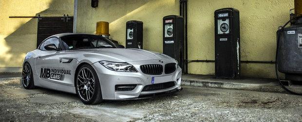 BMW Z4 by MB Individual Cars: Festin cu carbon pentru roadsterul bavarez