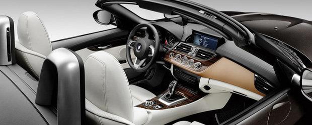 BMW Z4 primeste un plus de rafinament pentru Salonul Auto de la Detroit