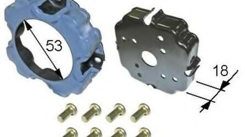 Bobina, ambreiaj magnetic compresor SEAT IBIZA V (6J5, 6P1) (2008 - 2016) NRF 38473 piesa NOUA