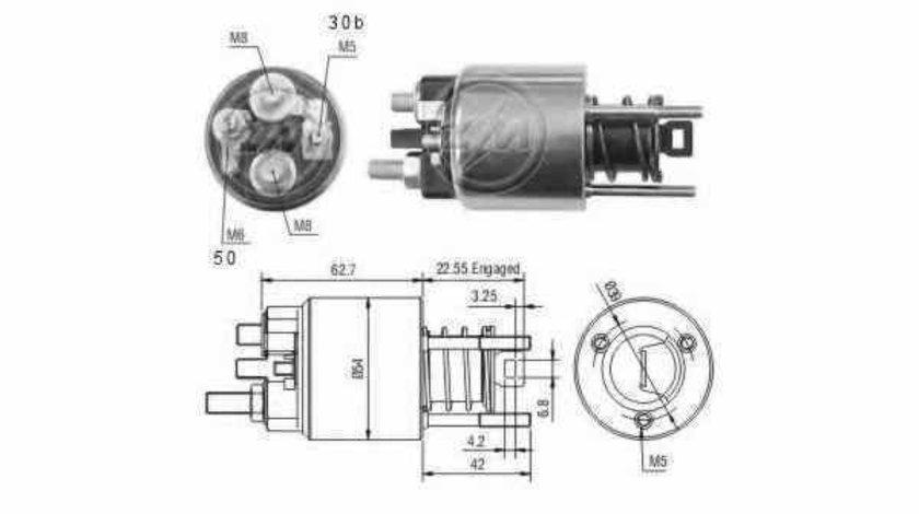 Bobina cuplare electromotor BMW X3 E83 ERA 227151