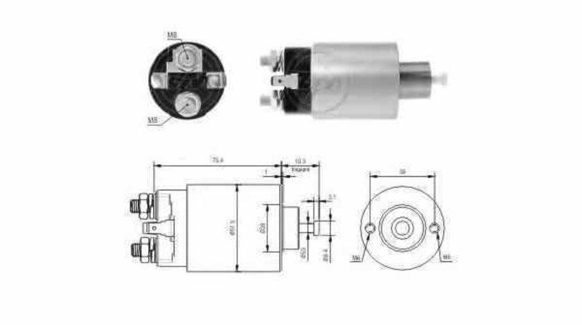 Bobina cuplare electromotor HYUNDAI H-1 / STAREX ERA 227399