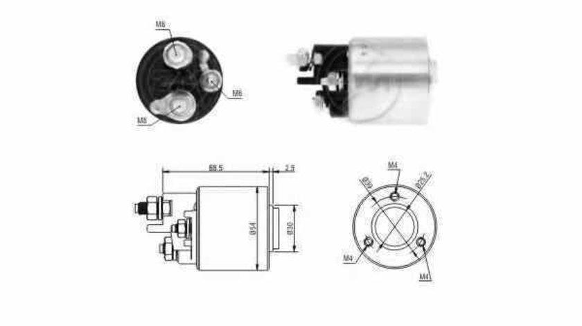 Bobina cuplare electromotor MERCEDES-BENZ C-CLASS combi S202 ERA 227074