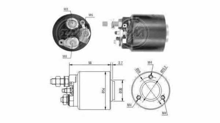 Bobina cuplare electromotor MERCEDES-BENZ S-CLASS W140 Producator ERA 227511
