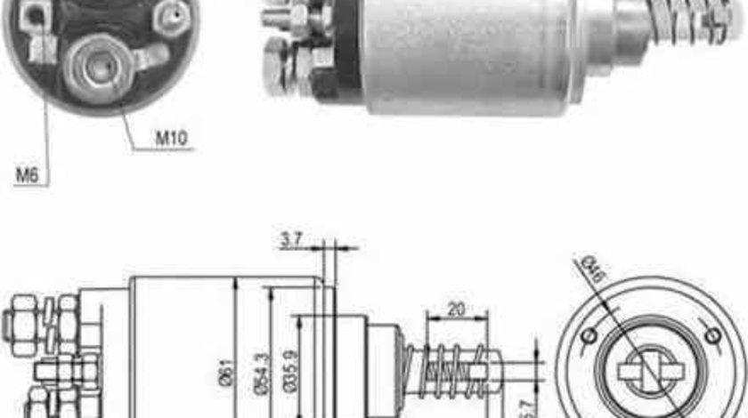 Bobina cuplare electromotor Producator MAGNETI MARELLI 940113050389