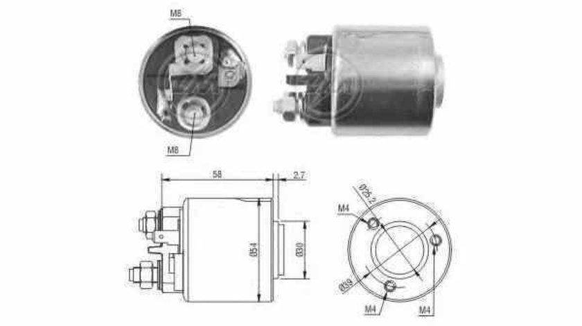 Bobina cuplare electromotor RENAULT KANGOO Express FC0/1 ERA 227056