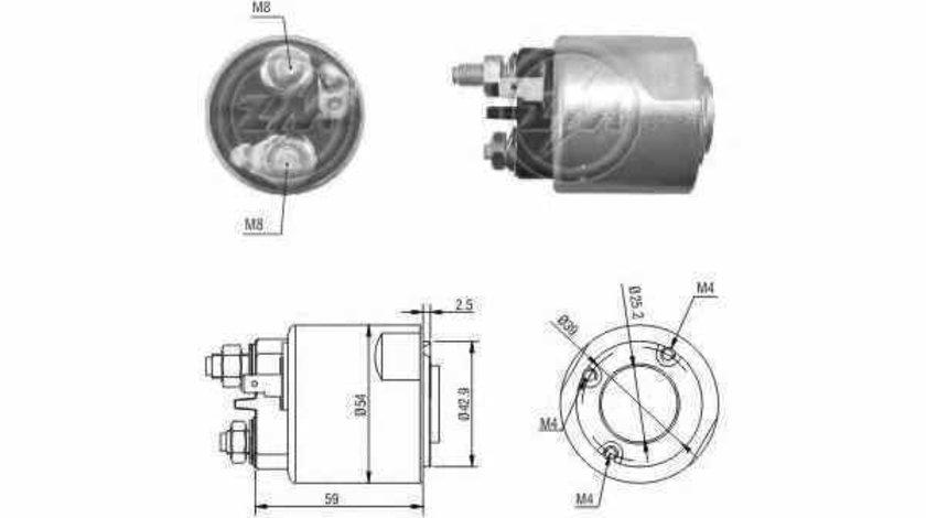 Bobina cuplare electromotor RENAULT KANGOO Express FW0/1 ERA 227173