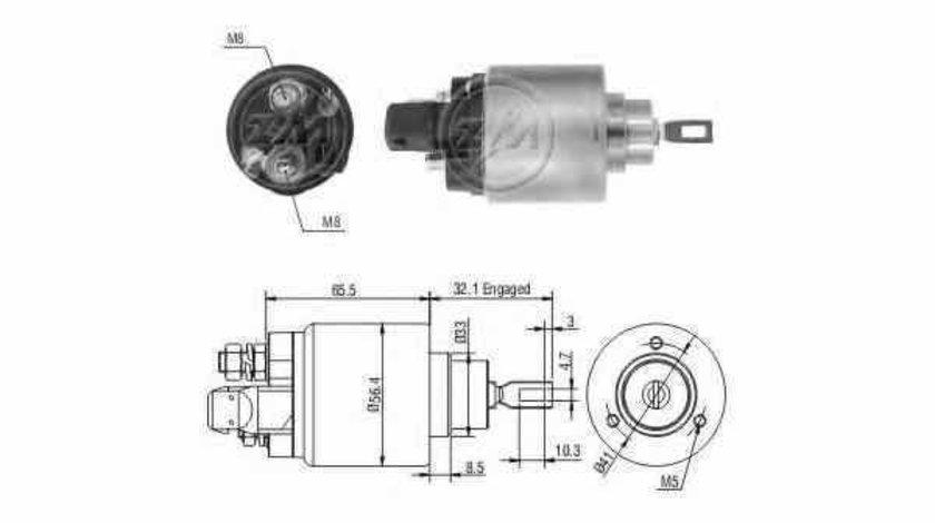 Bobina cuplare electromotor VW GOLF IV Variant 1J5 ERA 227869