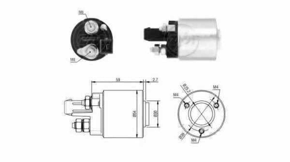 Bobina cuplare electromotor VW NEW BEETLE 9C1 1C1 ERA 227459