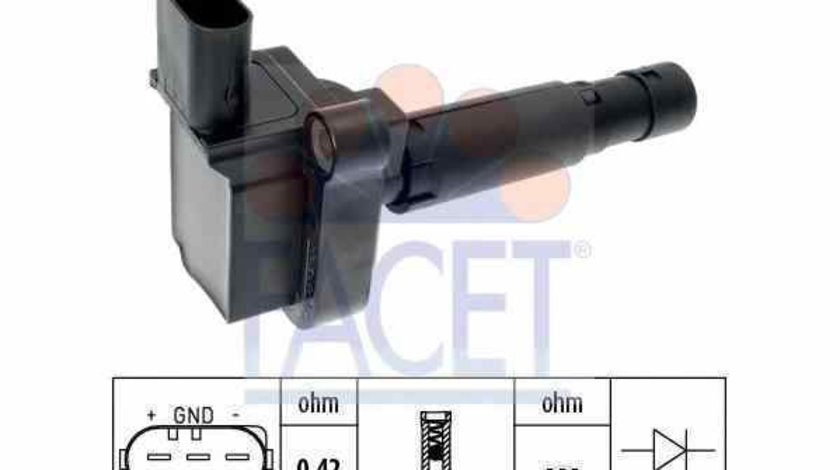 bobina de inductie MERCEDES-BENZ E-CLASS Cabriolet A207 FACET 9.6386