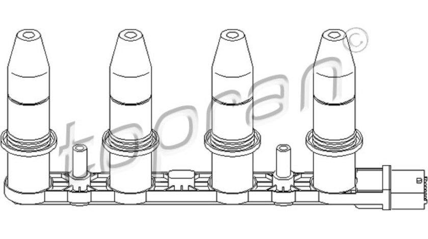 Bobina de inductie OPEL CORSA D Producator TOPRAN 207 466