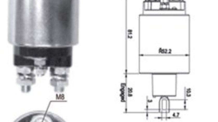 Bobina electromotor VOLVO S40 II, V50; FORD FIESTA IV, FOCUS, PUMA 1.4/1.6 intre 1996-2012