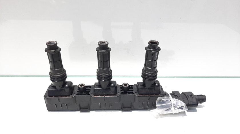 Bobina inductie, cod 0221503014, Opel Corsa C (F08, F68), 1.0 benz, Z10XE