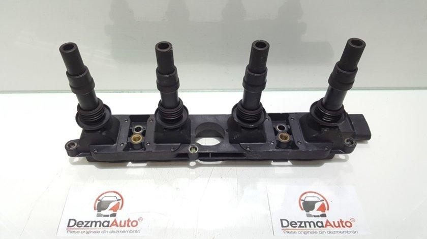 Bobina inductie, cod GM90536194, Opel Astra G Combi (F35), 1.8 benz, Z18XE