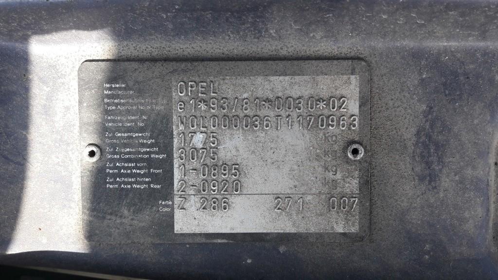 Bobina inductie Opel Vectra B 2000 SEDAN 1.8 16V