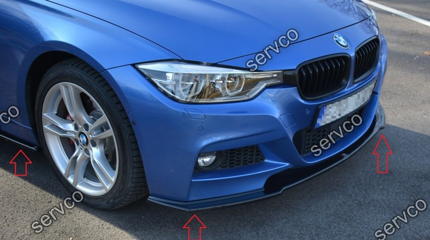 Bodykit pachet tuning sport BMW Seria 3 F30 Sedan M-Sport M Pack Performance Facelift 2015-2018 v2