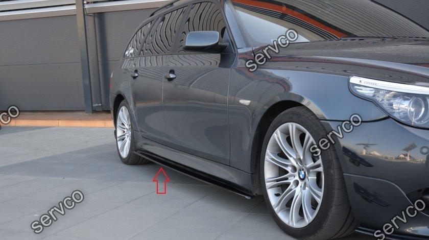 Bodykit pachet tuning sport BMW Seria 5 E60 E61 M Pack Performance Tech Aero 2003-2010 v1