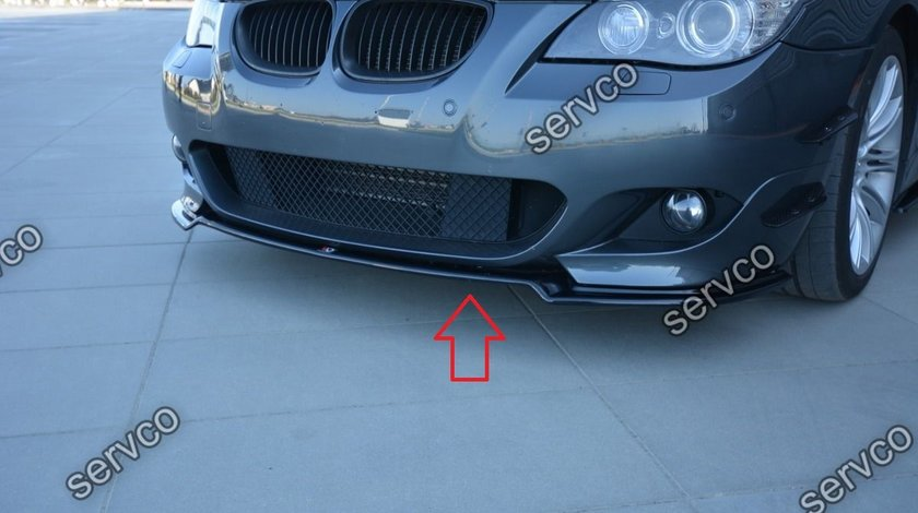 Bodykit pachet tuning sport BMW Seria 5 E60 E61 M Pack Performance Tech Aero 2003-2010 v2