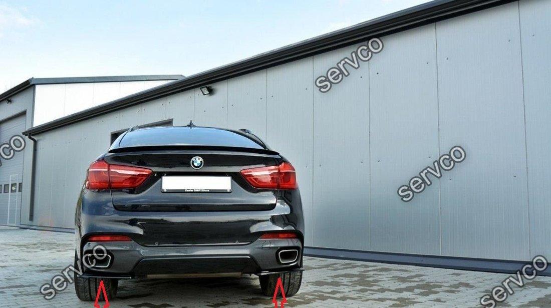 BodyKit pachet tuning sport BMW X6 F16 M Pack Performance Tech Aero 2015- v1