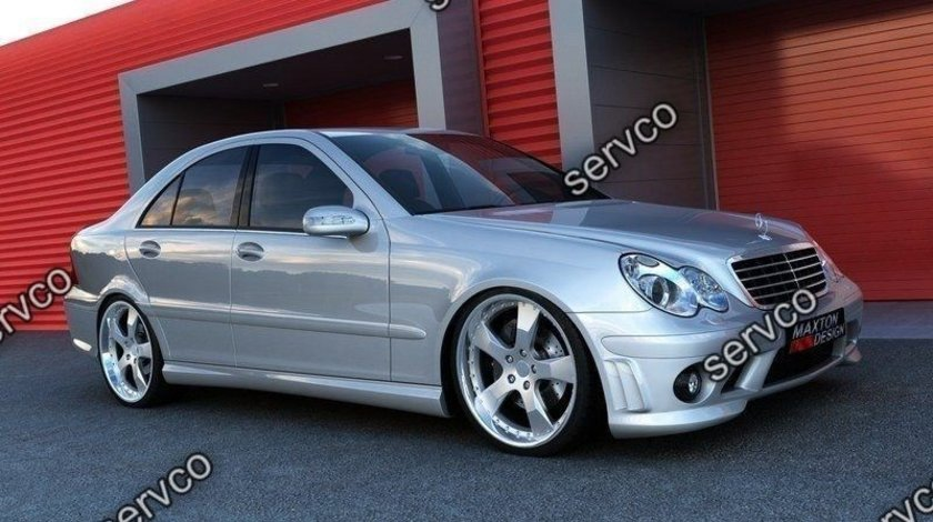 Bodykit tuning sport Mercedes C Class W203 AMG 204 Look 2000-2006 v1