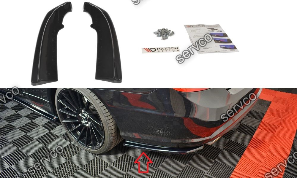 Bodykit tuning sport Mercedes E Class W207 Coupe AMG LINE 2009-2012 v1
