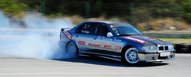 Bojan Kurbalija vine la Drift Grand Prix of Romania cu un BMW cromat!