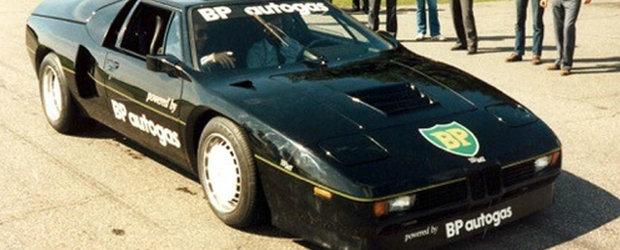 Bolidul cu motor pe GPL: cum a doborat recordul mondial de viteza in anul 1981