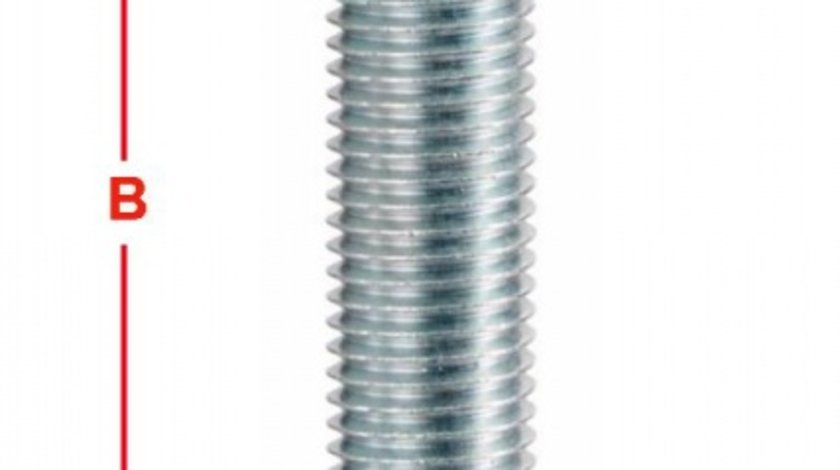 BOLT ROATA METRIC 12 PAS FILET 1,5 36MM – COD B130A36