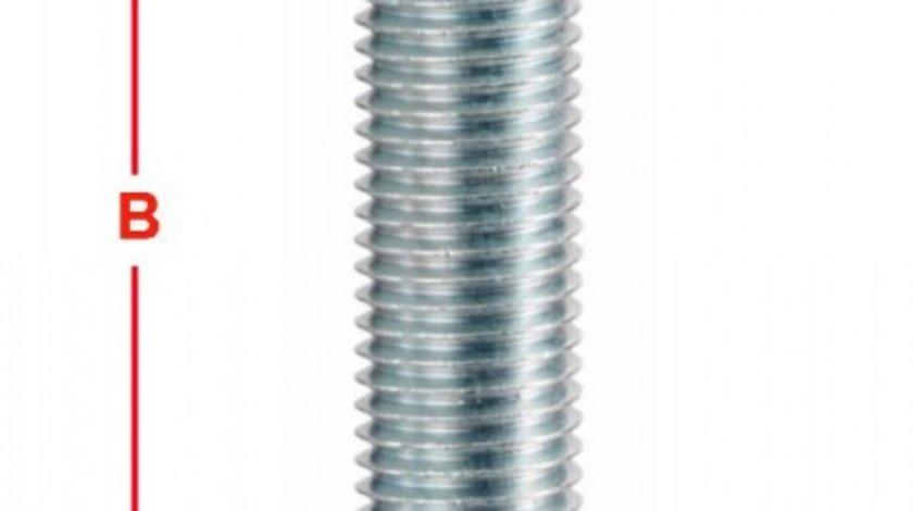 BOLT ROATA METRIC 12 PAS FILET 1,5 55MM – COD B130A55