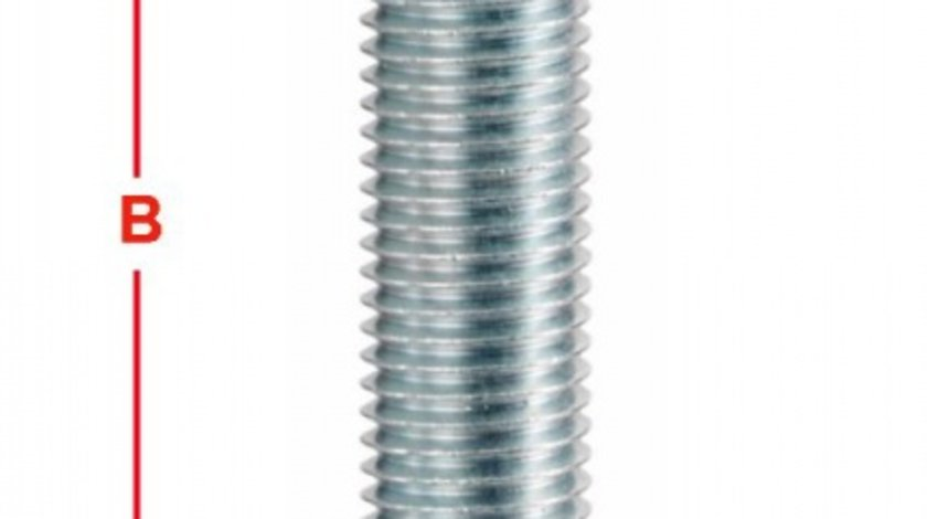 BOLT ROATA METRIC 12 PAS FILET 1,5 65MM – COD B130A65