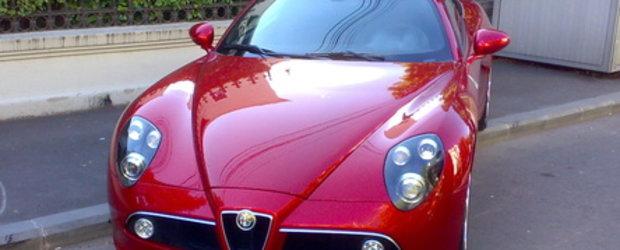 BOMBA! Alfa Romeo 8C Competizione Spider in Romania!