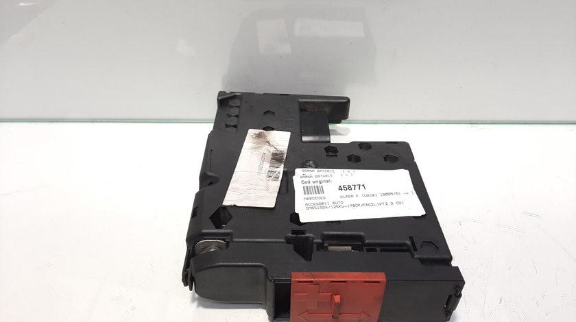 Borna baterie (+) Mercedes Clasa E (W212) 2.2 cdi, OM651924 (id:458771)