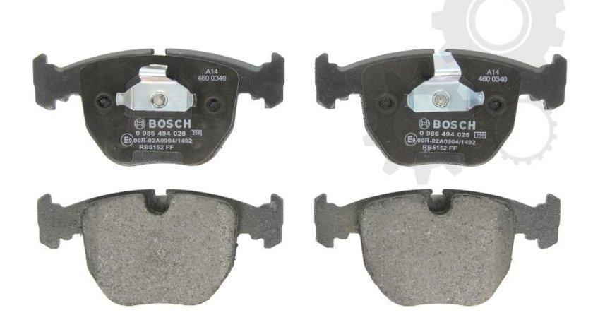 Bosch set placute frana punte fata pt bmw 5(e39), 7touring(e39), x5(e53)