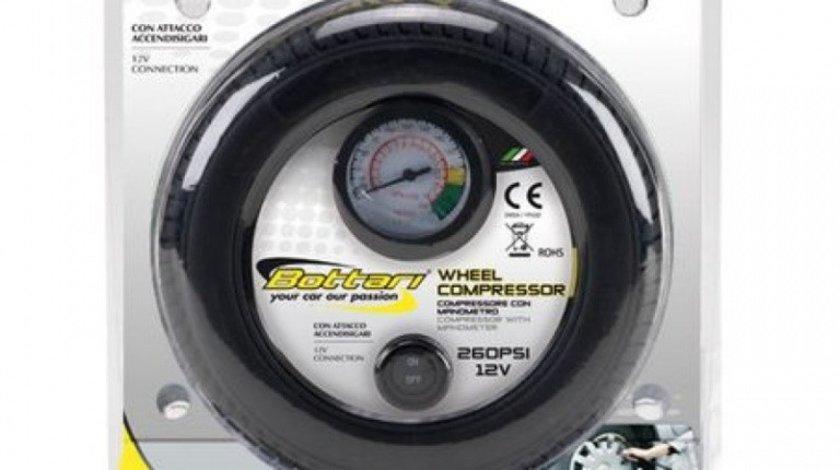 Bottari Compresor Auto Cu Manometru 12V 18 Bari 24054